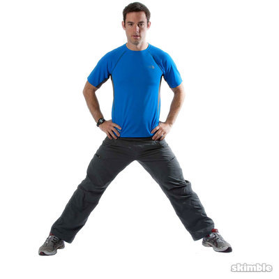 Right Side Lunges