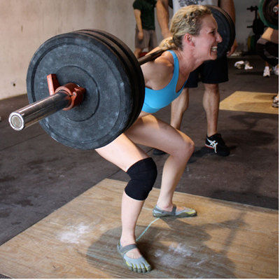 3 Weighted Front Squats