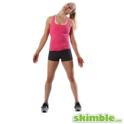 Left Lateral Neck Stretch