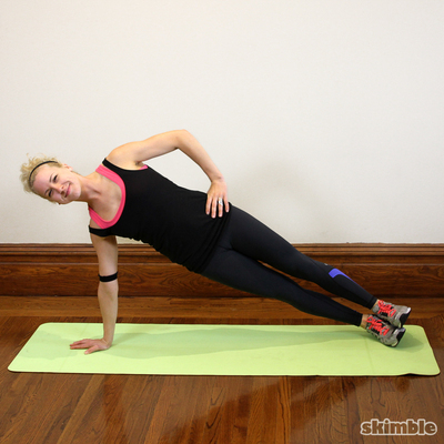 Full Right Side Plank