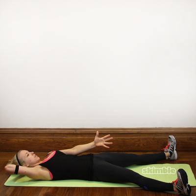 Wide Leg Sit-ups